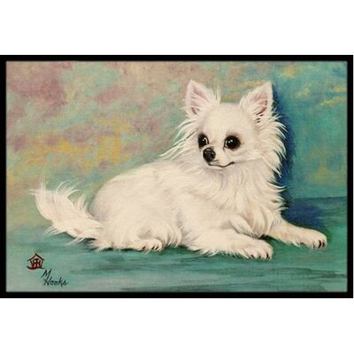 Chihuahua Queen Mother Doormat Rug Size: 2 x 3
