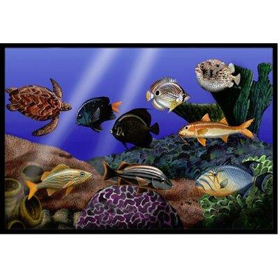 Undersea Fantasy 1 Doormat Mat Size: 16 x 23