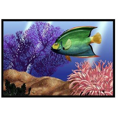 Undersea Fantasy 2 Doormat Mat Size: 16 x 23