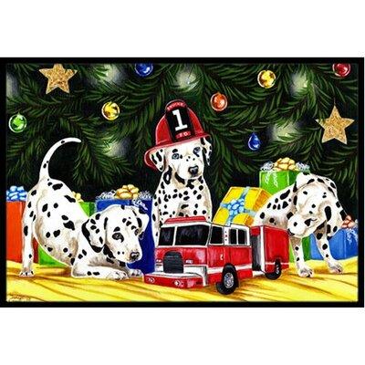 Christmas Favorite Gift Dalmatian Doormat Rug Size: 2 x 3