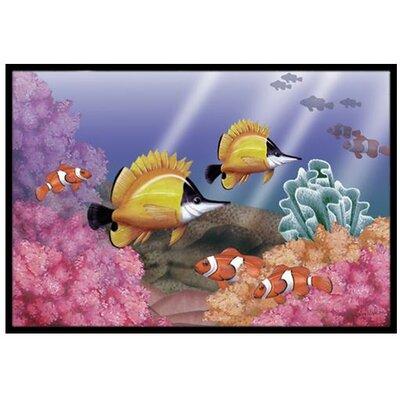 Undersea Fantasy 6 Doormat Rug Size: 2 x 3