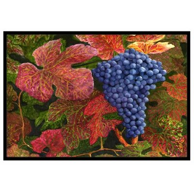 Grapes Of Joy Doormat Rug Size: 2 x 3
