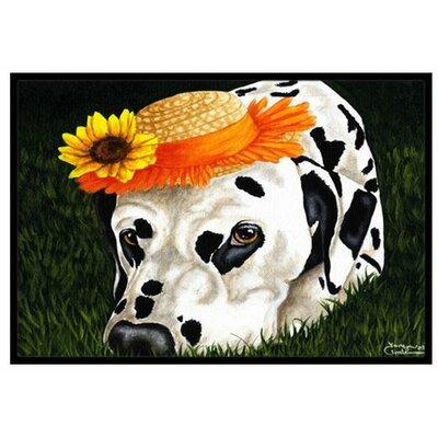My Sun Spot Dalmatian Doormat Rug Size: 2 x 3