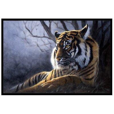 Bengal Tiger Doormat Rug Size: 16 x 23