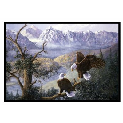 Eagles Doormat Mat Size: 1'6