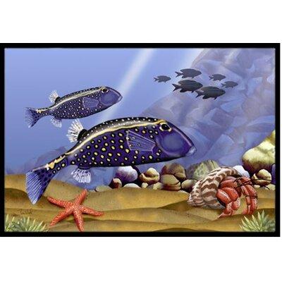 Undersea Fantasy 8 Doormat Mat Size: 2' x 3'