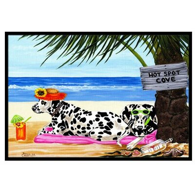 Hot Spot Cove Beach Dal Doormat Rug Size: 16 x 23