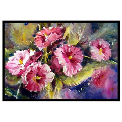 April Showers Bring Spring Flowers Doormat Rug Size: 16 x 23