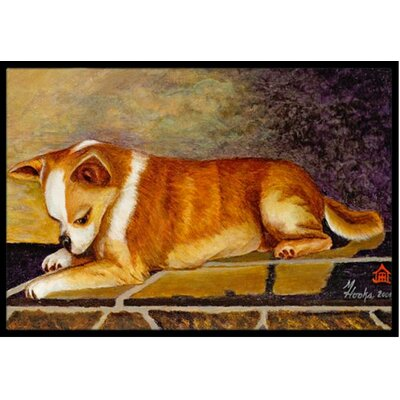 Chihuahua I See Me Doormat Rug Size: 2 x 3