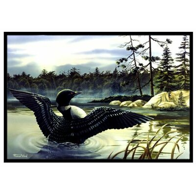 Loon Country Doormat Mat Size: 2 x 3
