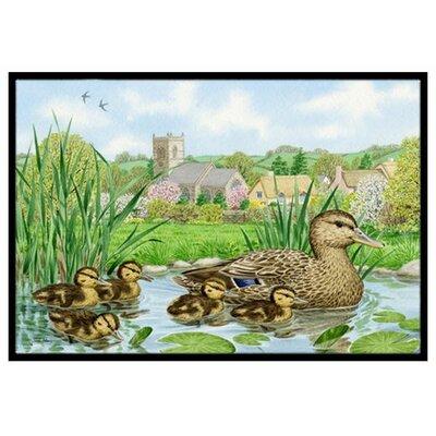 Mallard Duck Doormat Rug Size: 2 x 3