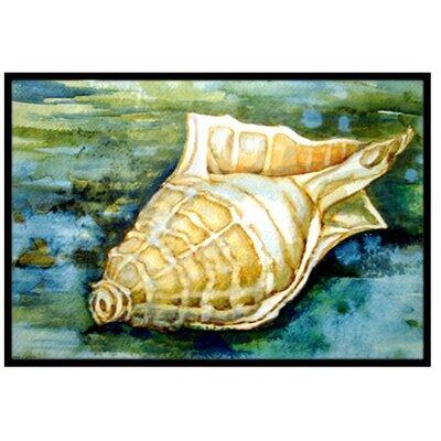 Seashells Inspire Me Doormat Rug Size: 2 x 3