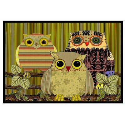 Fall Wisdom Owl Doormat Mat Size: 16 x 23
