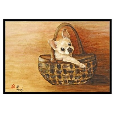 French Bulldog Take me TOO Doormat Rug Size: 16 x 23