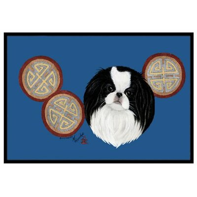 Japanese Chin Doormat Rug Size: 16 x 23