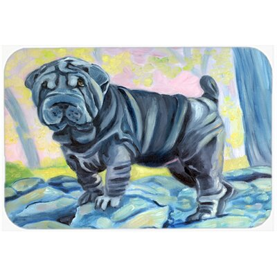 Shar Pei Kitchen/Bath Mat Size: 20 W x 30 L