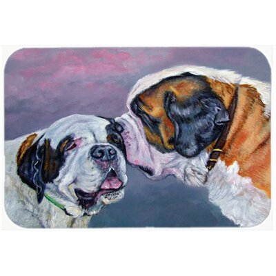 Saint Bernard Whisperear Kitchen/Bath Mat Size: 20 W x 30 L