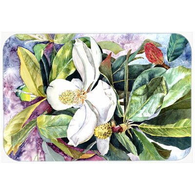 Magnolia Kitchen/Bath Mat Size: 24 W x 36 L