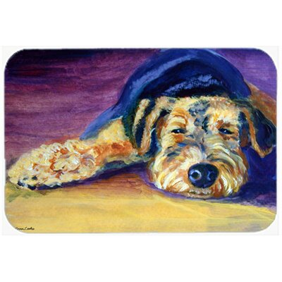 Snoozer Airedale Terrier Kitchen/Bath Mat Size: 24 W x 36 L
