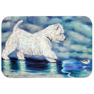 Misty Westie Kitchen/Bath Mat Size: 24 W x 36 L