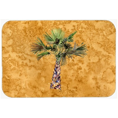 Palm Tree Kitchen/Bath Mat Size: 24 W x 36 L