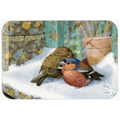 Chaffinches Kitchen/Bath Mat Size: 20 W x 30 L
