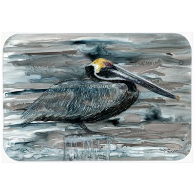 Pelican Kitchen/Bath Mat Size: 24 W x 36 L