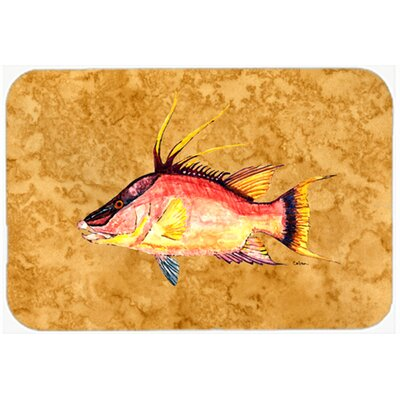 Hog Snapper Kitchen/Bath Mat Size: 24 W x 36 L