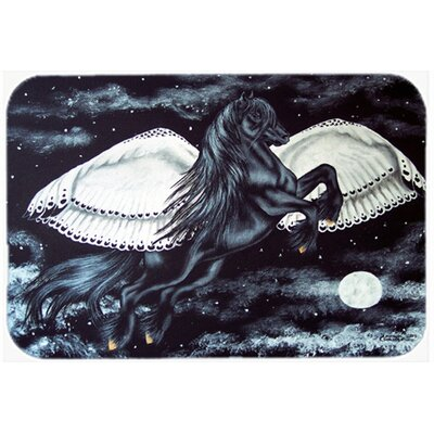 Flying Horse Kitchen/Bath Mat Size: 20