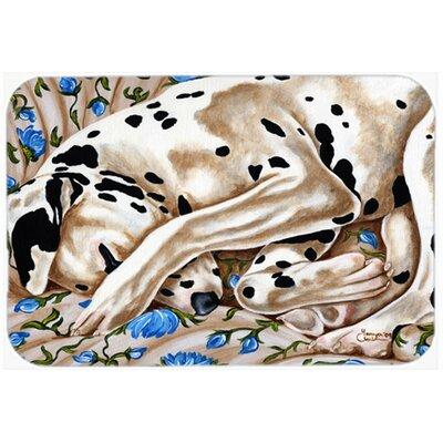 Bed of Roses Dalmatian Kitchen/Bath Mat Size: 20 W x 30 L