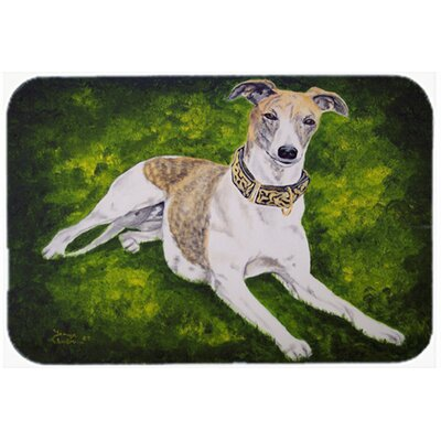 Isabella Greyhound Kitchen/Bath Mat Size: 20 W x 30 L
