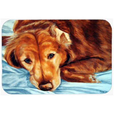 Retriever by Tanya and Craig Amberson Kitchen/Bath Mat Size: 20 W x 30 L