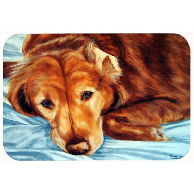 Retriever by Tanya and Craig Amberson Kitchen/Bath Mat Size: 24 W x 36 L