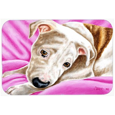Dream Girl Pit Bull Kitchen/Bath Mat Size: 20 W x 30 L