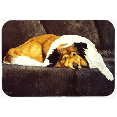 Collie by Tanya and Craig Amberson Kitchen/Bath Mat Size: 20 W x 30 L