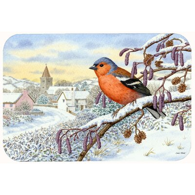 Bull Finch Kitchen/Bath Mat Size: 24 W x 36 L