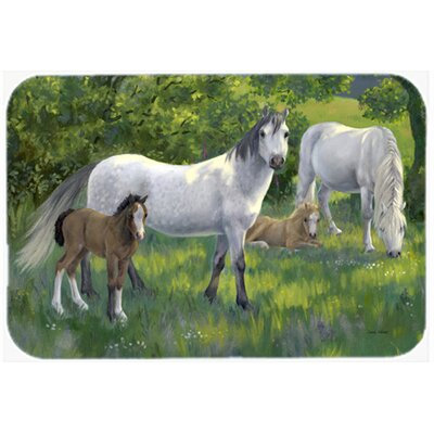 Group of Horses Kitchen/Bath Mat Size: 20 W x 30 L