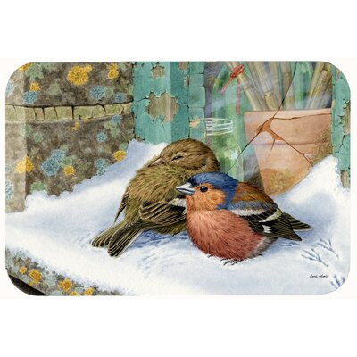 Chaffinches Kitchen/Bath Mat Size: 24 W x 36 L