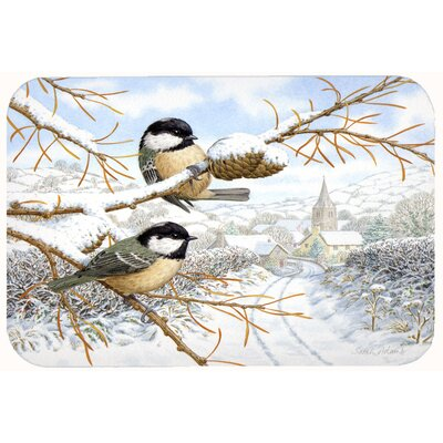 Coal Birds Kitchen/Bath Mat Size: 24 W x 36 L