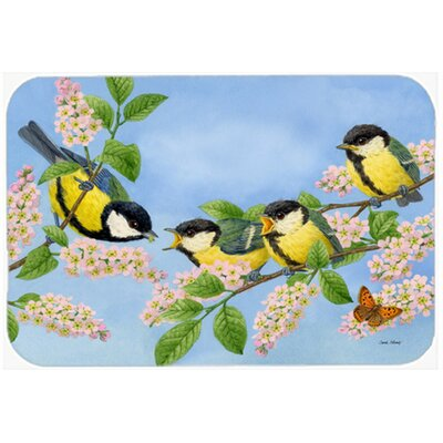Great Bird Family of Birds Kitchen/Bath Mat Size: 20 W x 30 L