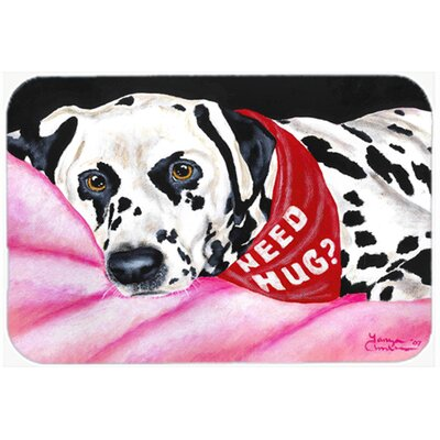 Need a Hug Dalmatian Kitchen/Bath Mat Size: 20 W x 30 L