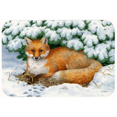 Winter Fox Kitchen/Bath Mat Size: 24 W x 36 L