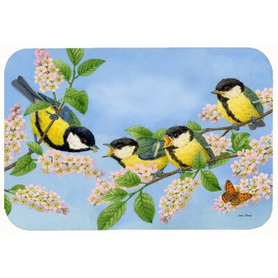 Great Bird Family of Birds Kitchen/Bath Mat Size: 24 W x 36 L