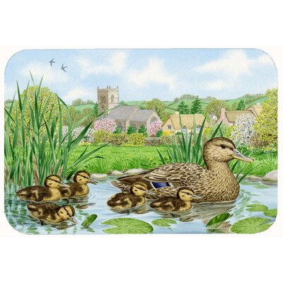 Mallard Duck Kitchen/Bath Mat Size: 24 W x 36 L