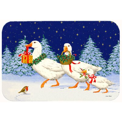 Three Geese and Gifts Kitchen/Bath Mat Size: 24 W x 36 L