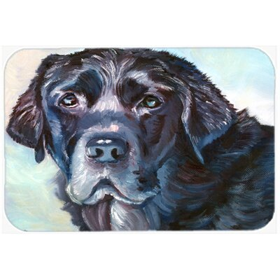 Labrador Face Kitchen/Bath Mat Size: 20 W x 30 L