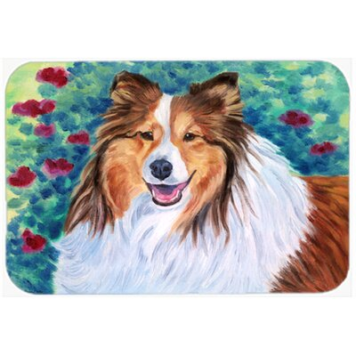Sheltie Kitchen/Bath Mat Size: 20 W x 30 L
