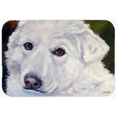 Great Pyrenees Contemplation Kitchen/Bath Mat Size: 20 W x 30 L