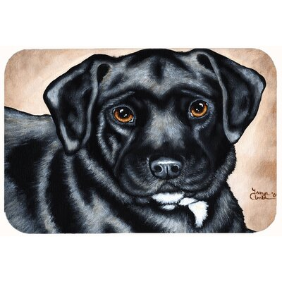 Bart the Labrador Kitchen/Bath Mat Size: 24 W x 36 L