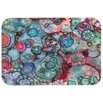 Abstract Kitchen/Bath Mat Size: 24 W x 36 L